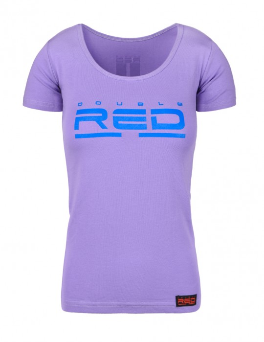 T-shirt ALL LOGO Basic Purple